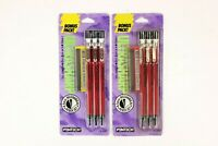 Vintage Pentech Ultrasharp 0.5mm Mechanical Pencil Set 30303 Red 1991 Lot of 2