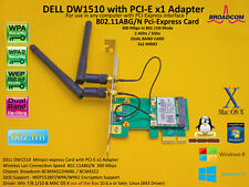 DELL DW1510 PCI-E x1 for Desktop Broadcom BCM4322 BCM94322HM8L Hackintosh