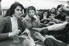ALAIN CHAMFORT 1970s  VINTAGE PHOTO ORIGINAL #1
