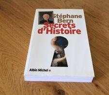 Livre - Secrets d'histoire - Stéphane Bern