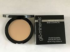 Glominerals Pressed Base Powder Foundation Compact Honey Fair