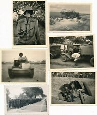 Nr.27952 6 Fotos 2 Wk Bilder des Krieges Panzer  Polen 7 x 10 Cm