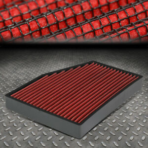 FOR 05-18 VW JETTA/GTI/PASSAT AUDI A3/Q3/TT DROP-IN PANEL CABIN AIR FILTER RED