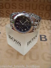 NEW HUGO BOSS MENS MOVADO PILOT CHRONOGRAPH SWISS MADE DESIGNER SUIT WRIST WATCH