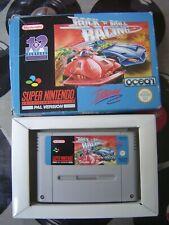 SNES Rock n Roll Racing (with box, no manual) PAL
