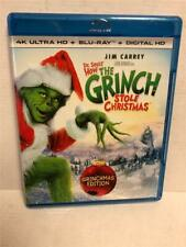 How the Grinch Stole Christmas (4K Ultra Hd Blu-ray, 2017, 4K Ultra Hd Blu-ray)