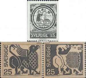 Sweden 706C-708A (complete issue) unmounted mint / never hinged 1971 Art