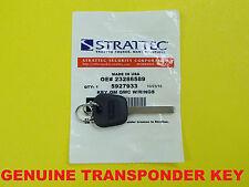 NEW Genuine 2010-2018 GMC Logo High Security Transponder Chip Key 5927933 SEALED