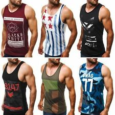 Cotton Big & Tall Sleeveless Activewear for Men
