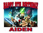 NEW PERSONALIZED CUSTOM LEGO STAR WARS BIRTHDAY T SHIRT PARTY FAVOR GIFT