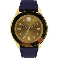 Movado Women's Bold 3600413 Gold Silicone Swiss Quartz Fashion Watch