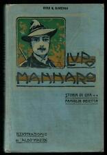 Barengo : Lupo Mannaro - Acquarelli di Aldo Mazza - Edizione Vallardi 1904