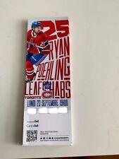 unused season hockey tickets Canadiens featuring Ryan Poehling sept 23