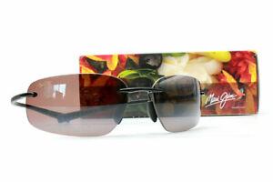 NEW Maui Jim KUPUNA Titanium  POLARIZED Rose lens Sunglasses womens