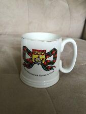 Vintage New Brunswick Tartan Mug Cup Lord Nelson Pottery England COFFEE TEA VTG