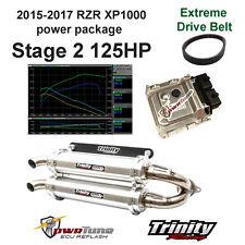 RZR XP1000 ECU Reflash Stage 2 Tune & Trinity Exhaust pwrTune XP 1000 with belt
