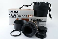 Tamron SP 90mm F/2.8 Di 272E Pentax Lens W/box Japan [Near Mint] #536478A