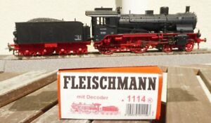 Fleischmann 1114 H0 Steam Br 13.10 DB Ep.3a, 3-Leiter AC Digital + Analogue, Ob