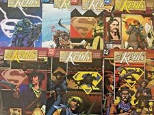 THE KENTS.  NO'S 1. 4-5. 7-8. 10-11.  (7 ISSUE LOT). VINTAGE 1997-1998.