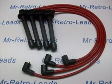 Rouge 8 mm Performance Ignition Leads WILL FIT HONDA CRX 1.6i Vti MKIII Targa SACT