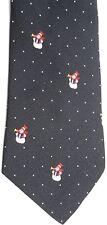 "Company B Men's Novelty Silk Blend Tie 55.5"" X 3.5"" Snowmen"