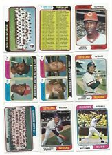 1974 TOPPS #646 GEORGE FOSTER CINCINNATI REDS NM OR BETTER