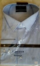 Mens Cotton Business Shirt European Fit Van Heusen Size46 Slv90
