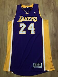 Kobe Bryant Los Angeles Lakers Authentic Team Issued Jersey NBA Lebron James