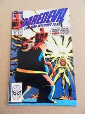 Daredevil  269 . Typhoid Mary - Marvel 1989 -   VF