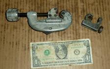 "Vintage 2 Ridgid Tube,Tubing Cutter,No.15-3/16 to 1-1/8"" OD,No.104,Old Plum.Tool"