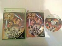 Mint Disc Xbox 360 Star Wars The Clone Wars Republic Heroes - Free Postage
