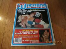 VTG DECEMBER 1980 PRO WRESTLING ILLUSTRATED MAGAZINE- DUSTY RHODES BOB BACKLUND