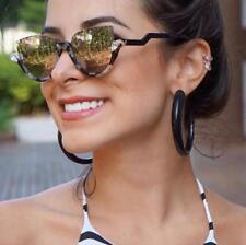 2018 New Fashion Vintage Cat Eye Sun Glasses Half Frame Women Sunglasses Eyewear