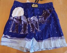 Star Wars Darth Vader Christmas Men's Boxer Shorts With Gift Bag Size S Blue