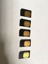 Nextel 128K Sim Cards For all Sprint Nextel Iden Phones Simgus103R Lot of 5