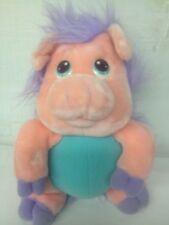 "Wuzzles Piggypine Rare 11"" Hasbro Softies VTG 1986 Plush Stuffed Pig Porcupine"