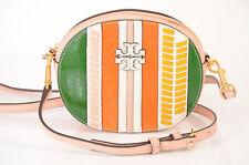 Tory Burch Mcgraw pink convertible round belt crossbody handbag purse NEW $358