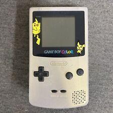 Nintendo Game Boy Color Pokémon Gold/Silver Edition w/ Battery Cover