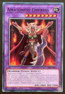 Amazoness Empress | CIBR-EN095 | Common | 1st Ed | Circuit Break | YuGiOh TCG