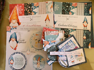 Paper Boutique Enchanted Chrustmas Paper Pads And Toppers