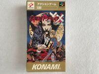 Castlevania Akumajo Dracula XX Nintendo Super Famicom SFC SNES Konami Japan