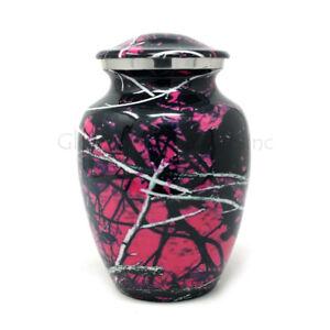 Cremation urn Moonshine camo Aluminium Medium
