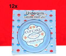 12x LITTLE BABY CUPCAKE UNDERARM CREAM LIGHTENING WHITENING 50 ml/1.69 oz