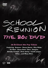 SCHOOL REUNION 80s POP MUSIC VIDEO DVD HITS POPULAR 1980 FAMOUS 80 SONGS