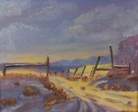 Joan Healey Original Oil Painting Impressionist Landscape Alberta Artist