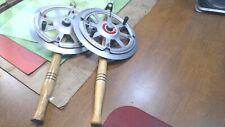 2- Vintage--Swish-Rod -Deep Water- Ice Fishing Rod and Reel- INDIANA Style Reel