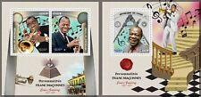 Luis Armstrong Masons Music Jazz Freemasonry MNH stamps set