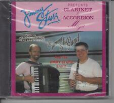 "JIMMY STURR  ""Clarinet & Accordion Magic""  NEW SEALED POLKA CD  1 of last 4 !!"