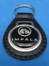 CHEVY IMPALA SS AUTO LEATHER KEYCHAIN KEY CHAIN RING FOB #190