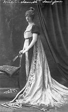 BE452 Carte Photo vintage card RPPC Femme woman Walter Mme Sans Gene Polak Photo